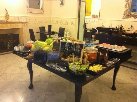 Borghese Palace Art Hotel : Salón de desayunos