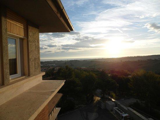 San Francesco Hotel: visuale camera