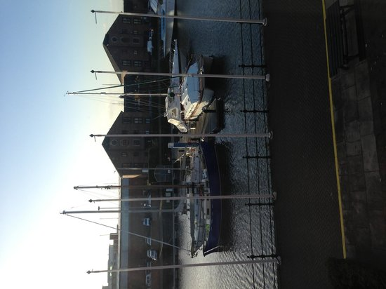 Holiday Inn Hull Marina: Get an executive room overlooking the Marina and get this view in the morning !