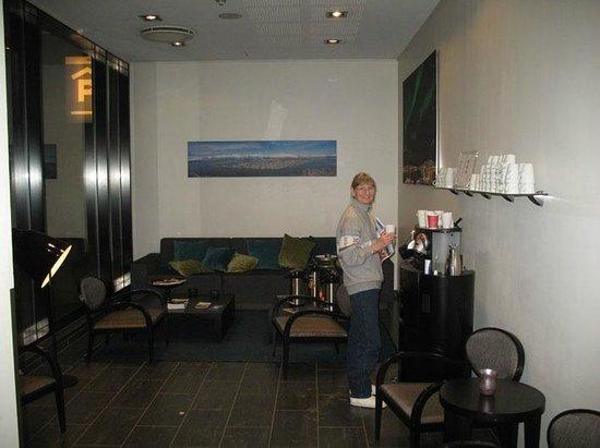 Thon Hotel Tromso: all day coffee-tea
