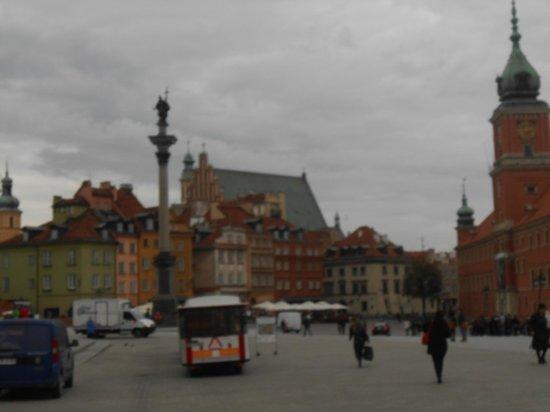 Castle Square (Plac Zamkowy): Beautiful, Castle Square!