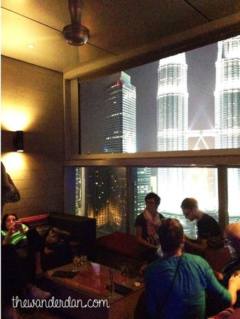 Traders Hotel, Kuala Lumpur : Sky Bar