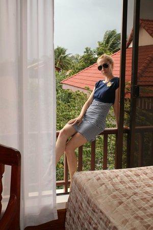 Angkor Way Boutique Hotel: Вид из окна