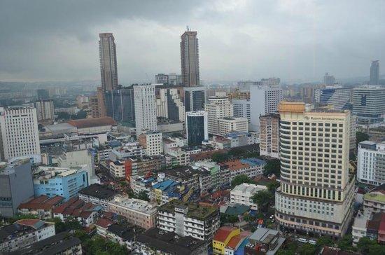 PARKROYAL Serviced Suites Kuala Lumpur: Blick vom Zimmer