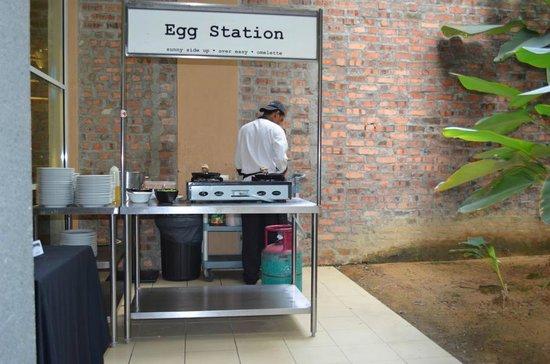 PARKROYAL Serviced Suites Kuala Lumpur: Zubereitungsstation