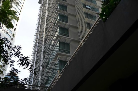PARKROYAL Serviced Suites Kuala Lumpur: Aussenansicht