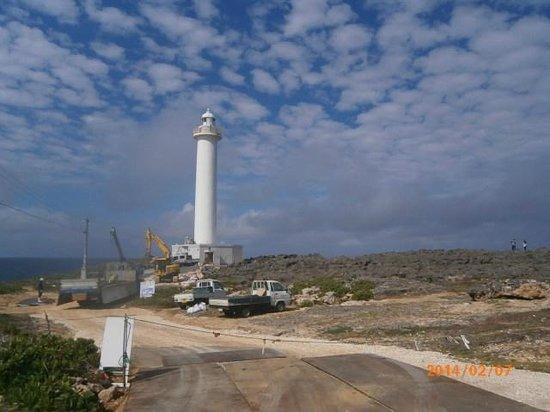 Cape Zanpa: 整備工事中でした