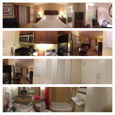 TownePlace Suites Houston North/Shenandoah : The room