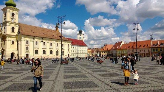 Grand-Place (Piata Mare) : Grand Square, Sibiu