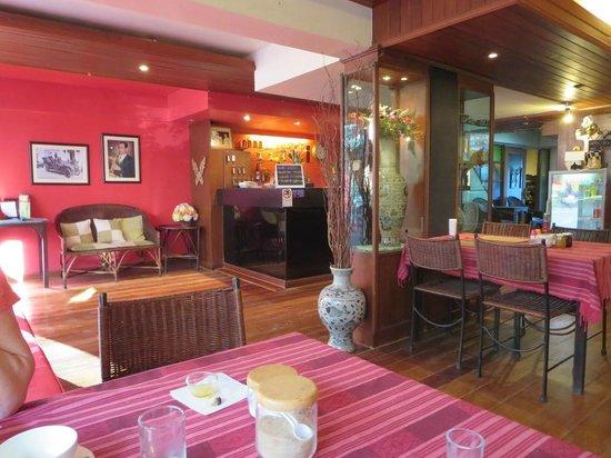 The North Hotel : receptie en restaurant, sfeervol