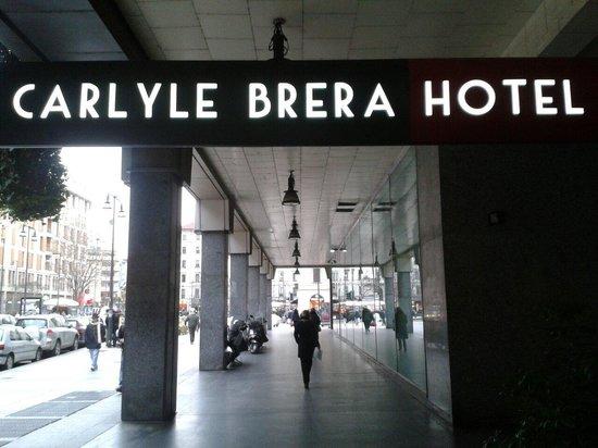 Carlyle Brera Hotel: entrata
