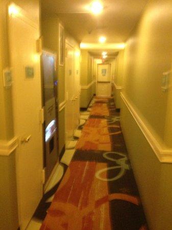 Best Western JFK Airport Hotel: Hallway
