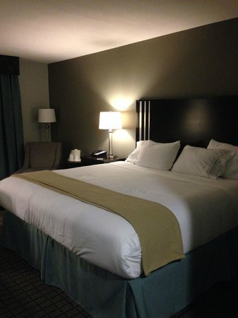Holiday Inn Express & Suites Selinsgrove: Comfortable bed!