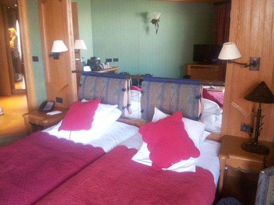 Club Med Meribel l'Antares : lits jumeaux