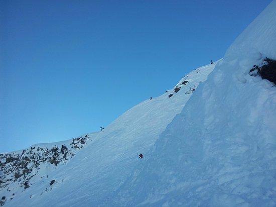 Club Med Meribel l'Antares : hors pistes