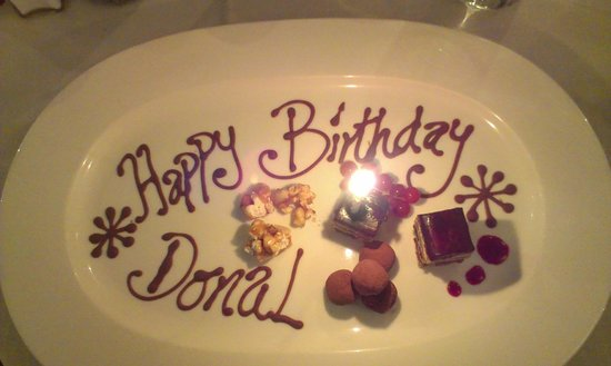 The Baytree: The entire restaurant was singing happy birthday to me!