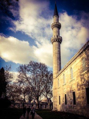Süleymaniye-Moschee: entrance