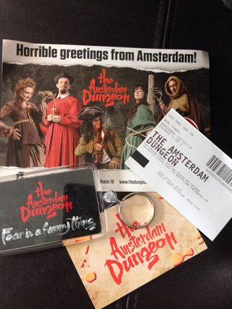 The Amsterdam Dungeon: .