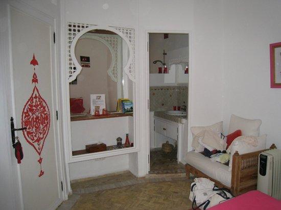 Dar Liouba: chambre