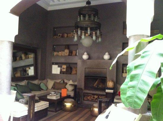Riad Abracadabra : Lounge area