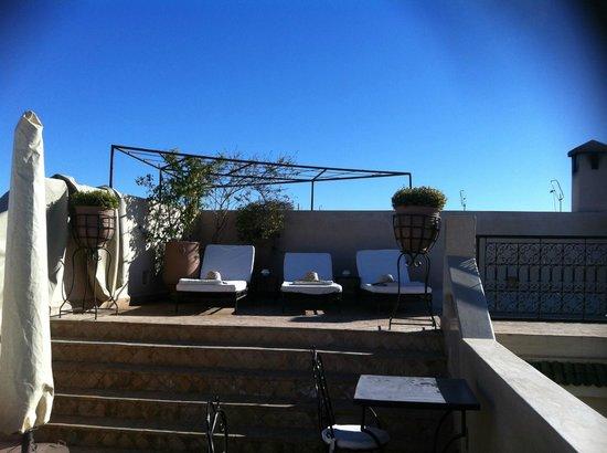Riad Abracadabra: Terrace