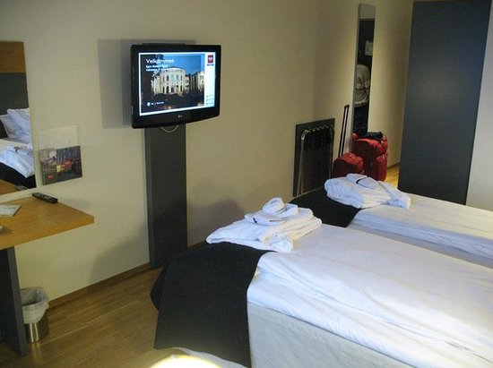 Thon Hotel Kirkenes: your name on the screen