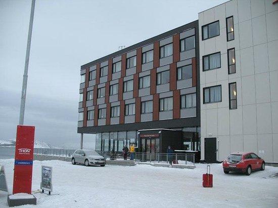 Thon Hotel Kirkenes: arrival