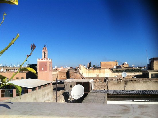 Riad Abracadabra : View from the roof terrace