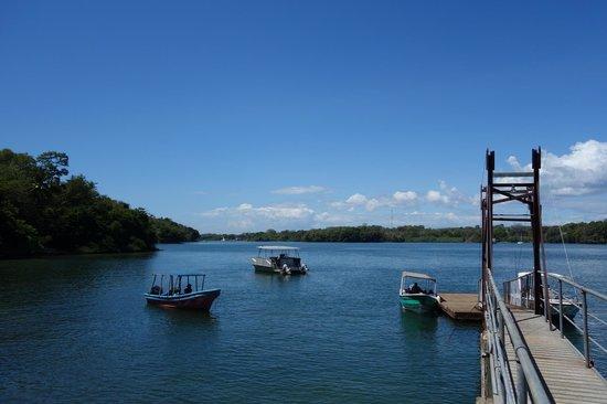 Hotel Boca Brava : Ponton de l'hotel