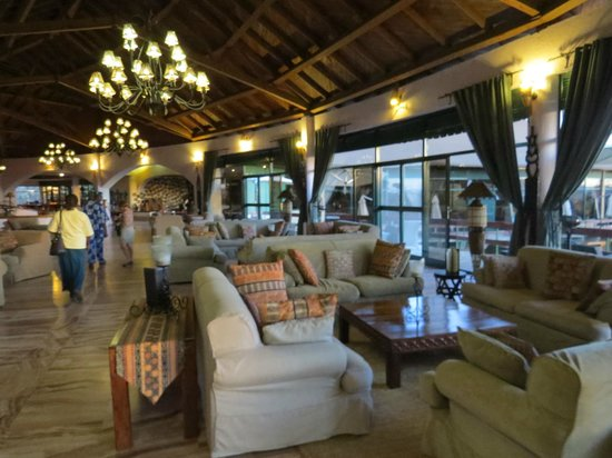 Tarangire Sopa Lodge: Lounge