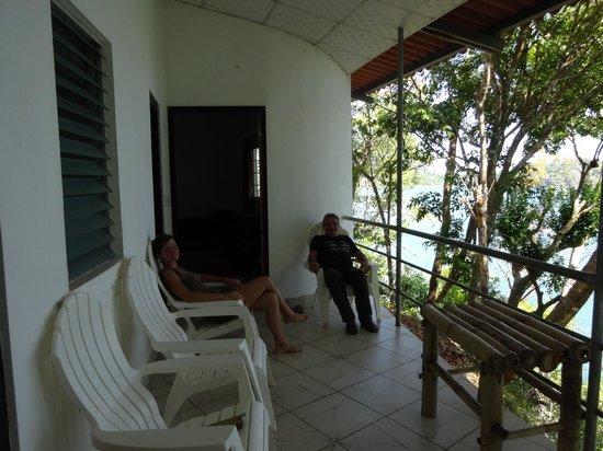 Hotel Boca Brava : Terrasse privée