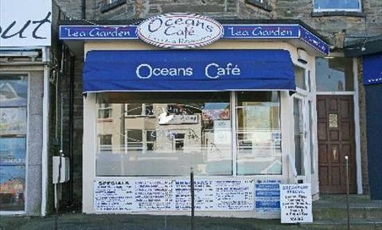Breakfast at Oceans Cafe