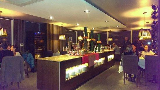 The Gourmet Corner Restaurant: The restaurant