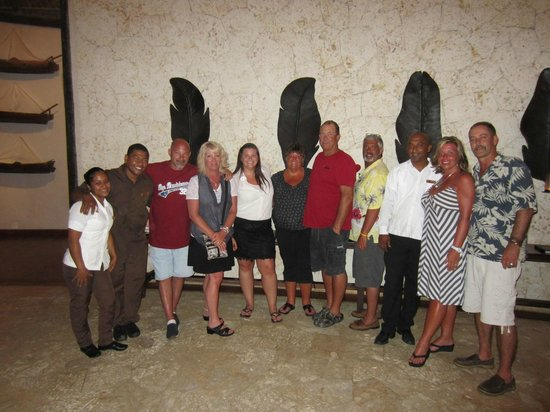 Zoetry Agua Punta Cana: our group
