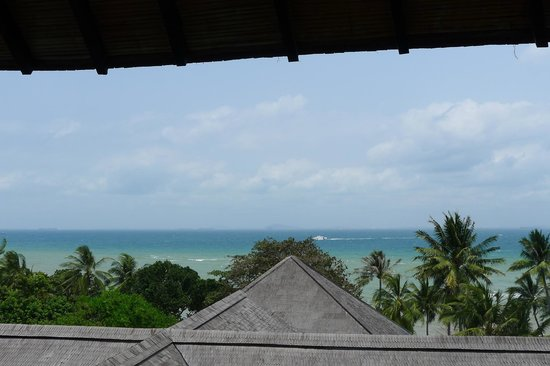 Turi Beach Resort: view from the pavilion