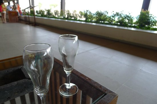 Turi Beach Resort: welcome drinks (chilled ginger tea)