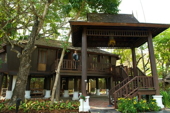 The Dhara Dhevi Chiang Mai: Villa from Outside