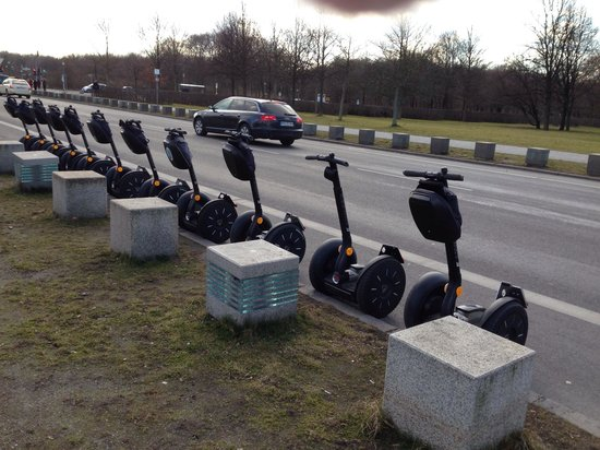 City Segway Tours: Stopping for a moment