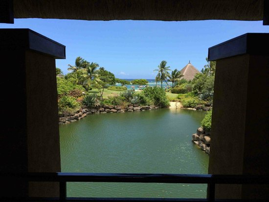 The Oberoi, Mauritius : View on arrival