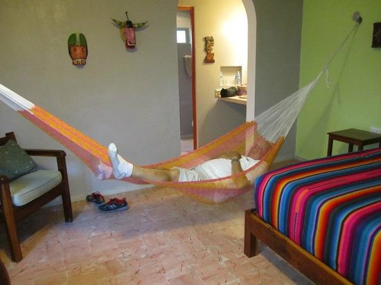 Casa Del Maya: Taking it easy in the hammock