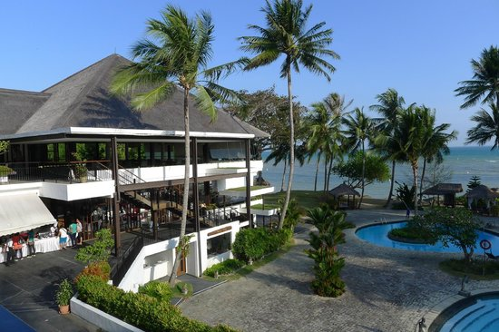 Turi Beach Resort: view from breakfast area
