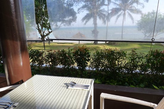 Turi Beach Resort: view from taming restaurant