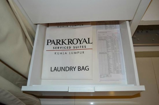 PARKROYAL Serviced Suites Kuala Lumpur: Wäschetasche