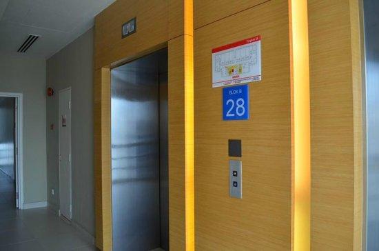 PARKROYAL Serviced Suites Kuala Lumpur: Aufzug
