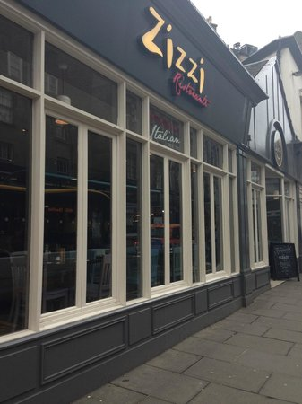 Zizzi - Edinburgh Queensferry Street: Zizzi's Edinburgh Queensferry Street