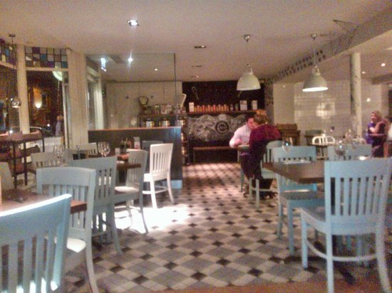 Zizzi - Derby: Seating area