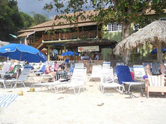 The Boardwalk Hotel: Lounge area