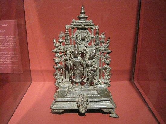 San Diego Museum of Art: ALTAR PIECE WITH VISHNU AND SHRI DEVI