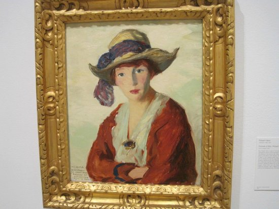 San Diego Museum of Art: ROBERT HENRI PORTRAIT OF WIFE