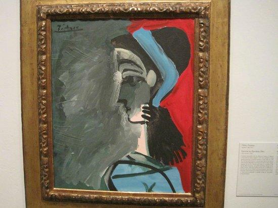 San Diego Museum of Art: FEMME BANDEAU BLEU